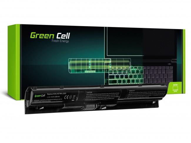 Green Cell do HP Pavilion 14-AB 15-AB 15-AK 17-G / 14,4V 2200mAh - zdjęcie główne