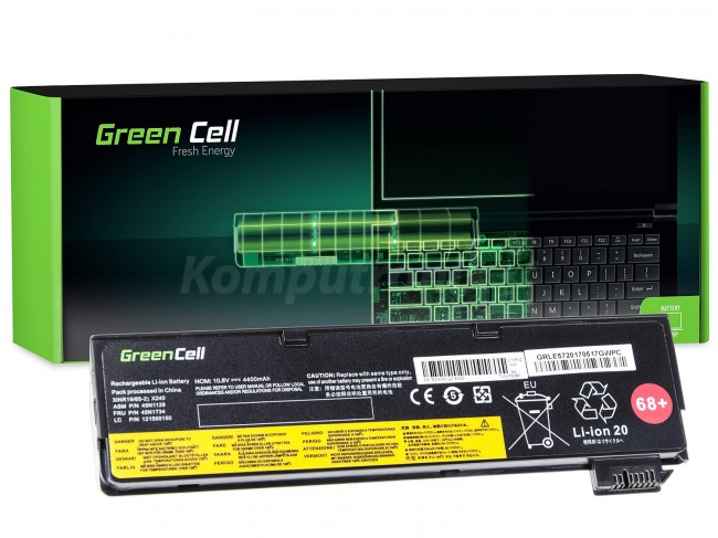 Green Cell do Lenovo ThinkPad T440 L450 / 11,1V 4400mAh - zdjęcie główne