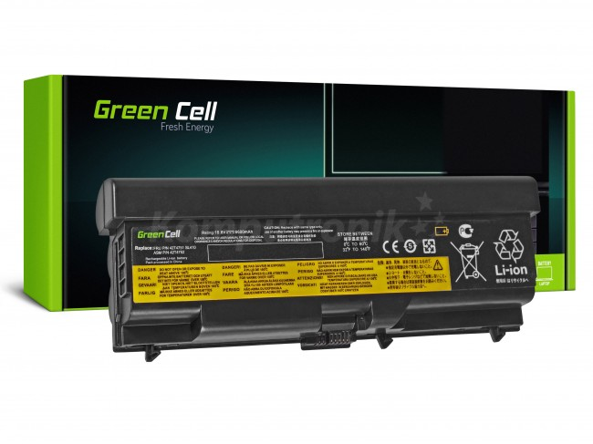Green Cell do Lenovo ThinkPad T410 T420 T510 T520 W510 / 11,1V 6600mAh - zdjęcie główne
