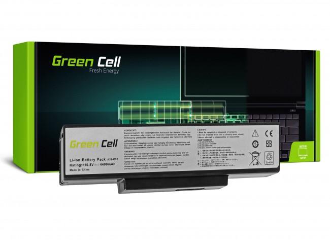 Green Cell do Asus A32-K72 K72 K73 N71 N73 / 11,1V 4400mAh - zdjęcie główne