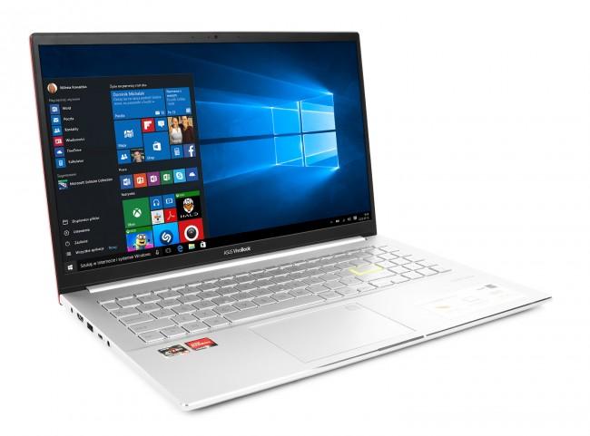 ASUS VivoBook S15 M533UA-BN159T Czerwony - 512GB M.2 PCIe | Windows 10 Pro - zdjęcie główne