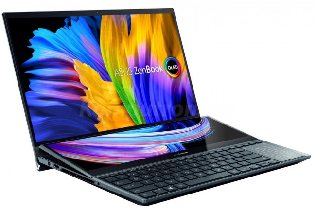 ASUS ZenBook Pro Duo 15 OLED UX582LR-H2003R Niebieski - zdjęcie główne