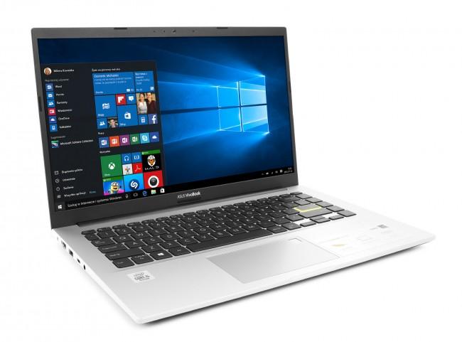 ASUS VivoBook 14 X413JA-EB509T Biały - zdjęcie główne