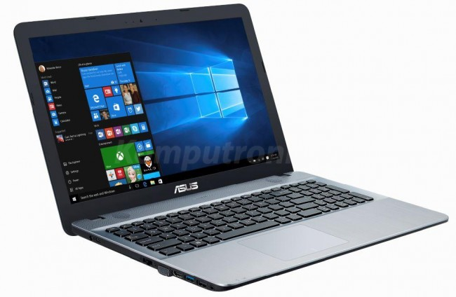 ASUS X541SA-DM690 Srebrny - 240GB SSD   Windows 10 Home - zdjęcie główne