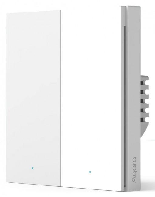 Aqara Przełącznik 2-Przyciski z neutral H1 WS-EUK04 - zdjęcie główne