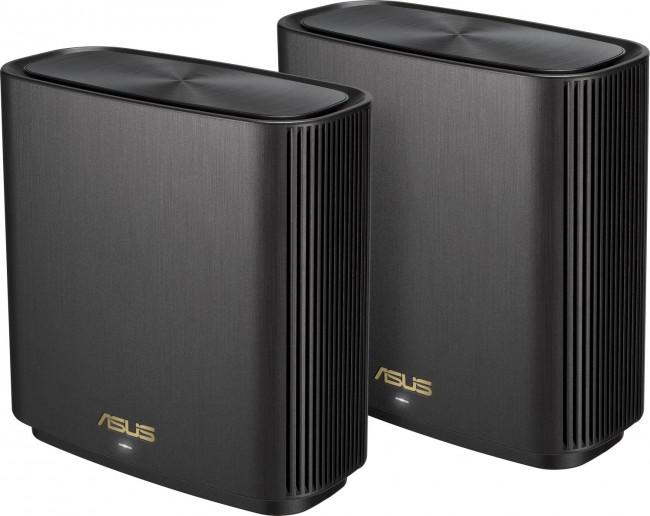 ASUS ZenWiFi AX (XT8) (2-pack)-czarny - zdjęcie główne