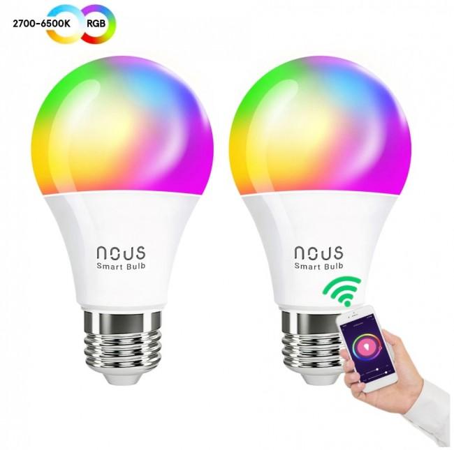Nous P3 żarówka RGB E27 (2-pak) - zdjęcie główne