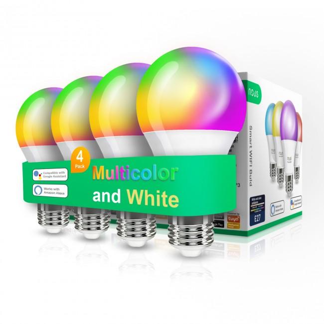 Nous P3 żarówka RGB E27 (4-pak) - zdjęcie główne