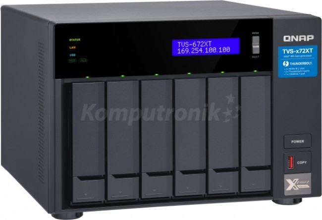 QNAP TVS-672XT-i3-8G - zdjęcie główne