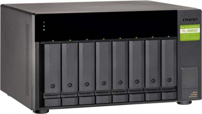 QNAP TL-D800C (USB) - zdjęcie główne