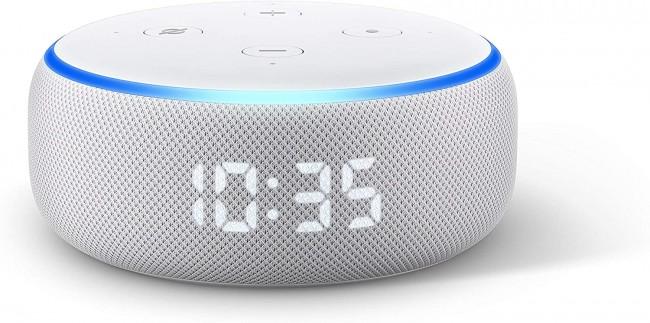 Amazon Echo Dot 3 z zegarem Sandstone - zdjęcie główne