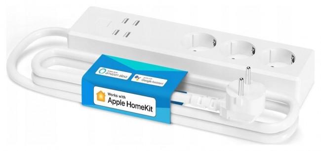 Meross MSS425EHK(EU), 3 gniazda + 4x USB - zdjęcie główne