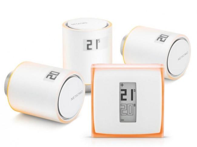 Netatmo Zestaw Thermostat + 3x Valves - zdjęcie główne