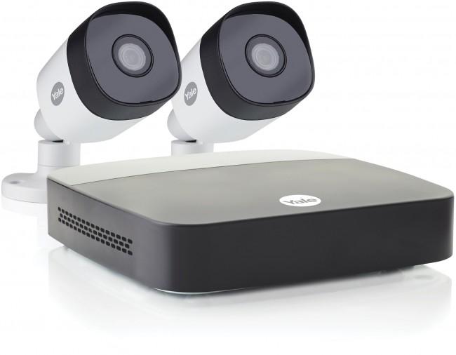 Yale CCTV z 2 kamerami HD 1080p DVR 1TB SV-4C-2ABFX-2 - zdjęcie główne