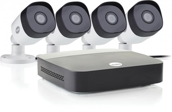 Yale CCTV z 4 kamerami HD 1080p DVR 1TB SV-4C-4ABFX-2 - zdjęcie główne