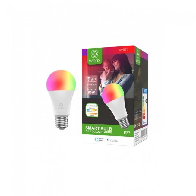 WOOX R9074 Inteligentna smart żarówka WiFi LED RGB CCT 10W E27 - zdjęcie główne