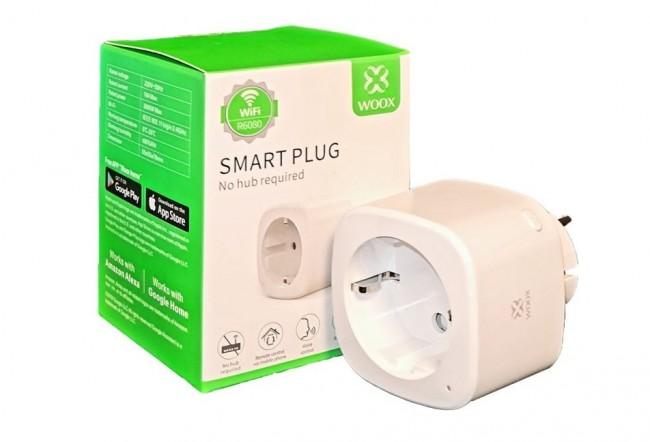 WOOX R6080 Inteligentne smart gniazdko pojedyncze, WiFi, 16A_ - zdjęcie główne