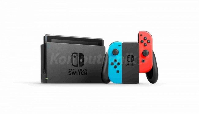 Nintendo SWITCH Neon Red & Blue Joy-Con - zdjęcie główne