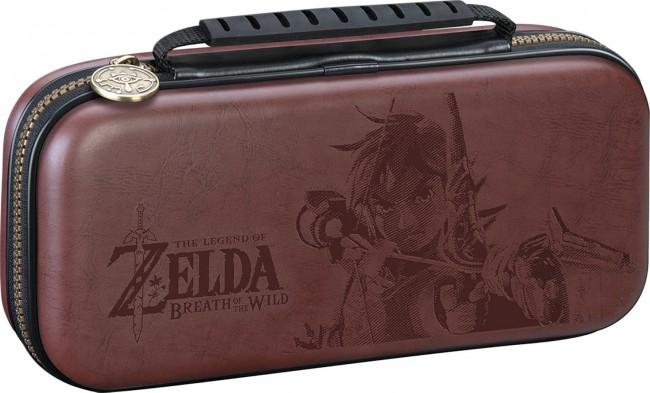Big Ben Nintendo Switch Etui na konsole Zelda brązowe - zdjęcie główne
