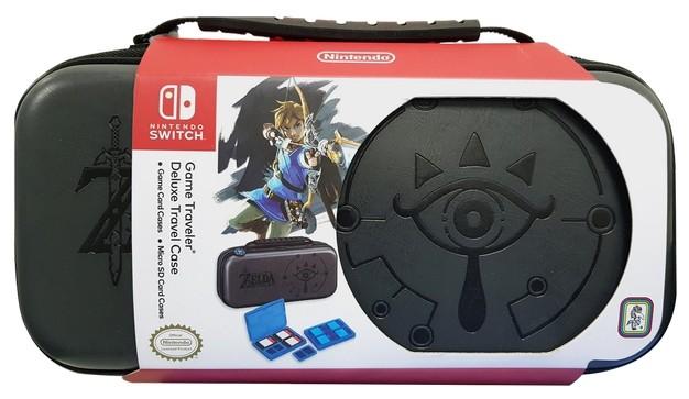 Big Ben Nintendo Switch Etui na konsole Zelda Sheikah Eye czarne - zdjęcie główne