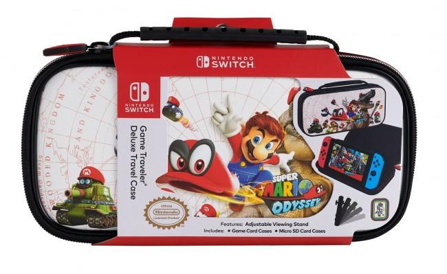 Big Ben Nintendo Switch Etui na konsole Mario Odyssey - białe - zdjęcie główne