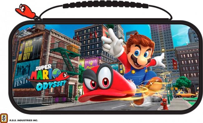 Big Ben Nintendo Switch Etui na konsole Mario Odyssey - zdjęcie główne