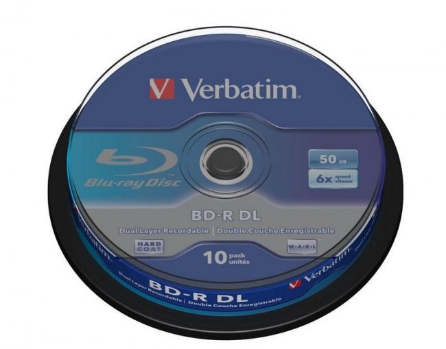 BD-R Verbatim 50GB 10szt - zdjęcie główne