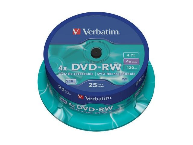 DVD-RW Verbatim 25szt - zdjęcie główne