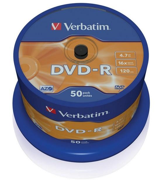DVD-R Verbatim 50szt - zdjęcie główne