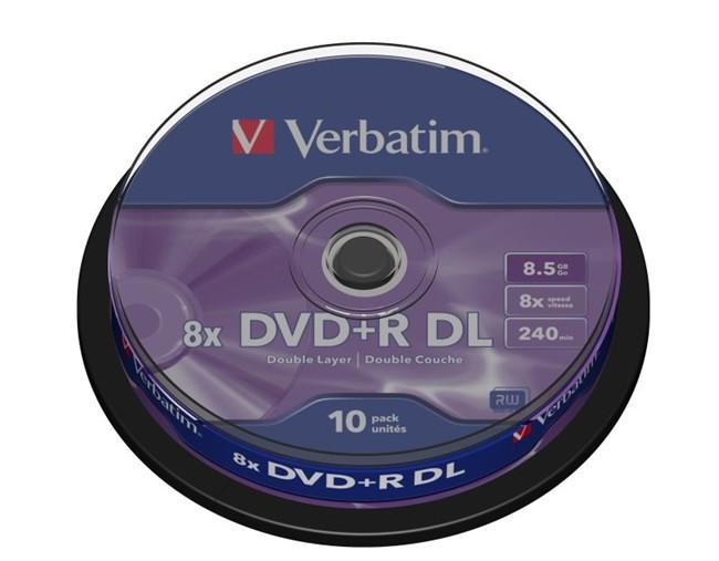 DVD+R Verbatim DL10szt - zdjęcie główne