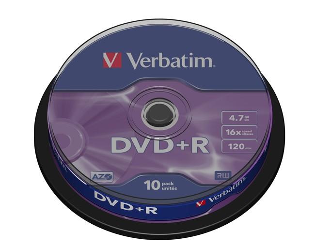 DVD+R Verbatim 10 szt - zdjęcie główne