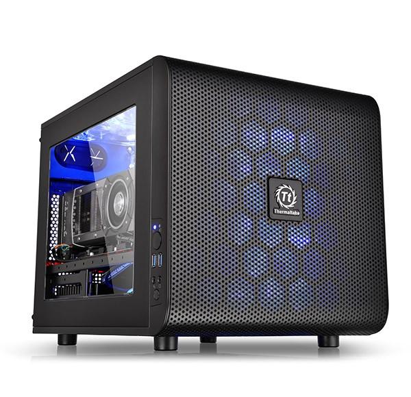 Thermaltake Core V21 Window Black - zdjęcie główne