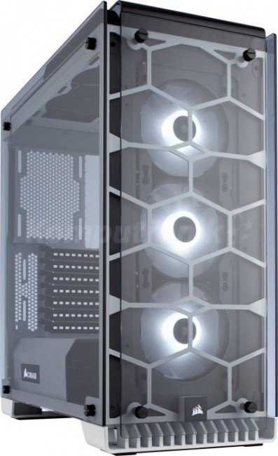 Corsair Crystal Series 570X RGB Compact CC-9011110-WW biała - zdjęcie główne