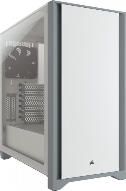 Corsair 4000D Tempered Glass White CC-9011199-WW - zdjęcie główne