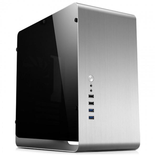 Jonsbo UMX3 Micro-ATX, Tempered Glass - srebrna - zdjęcie główne