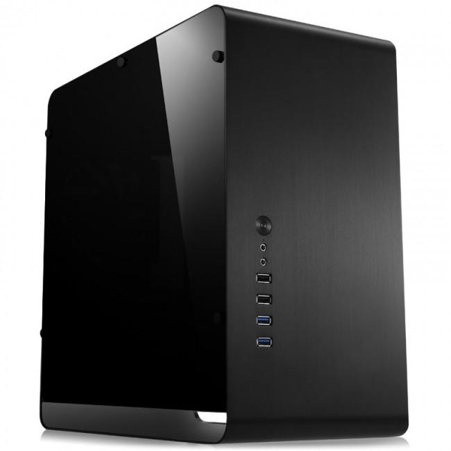 Jonsbo UMX3 Micro-ATX, Tempered Glass - czarna - zdjęcie główne