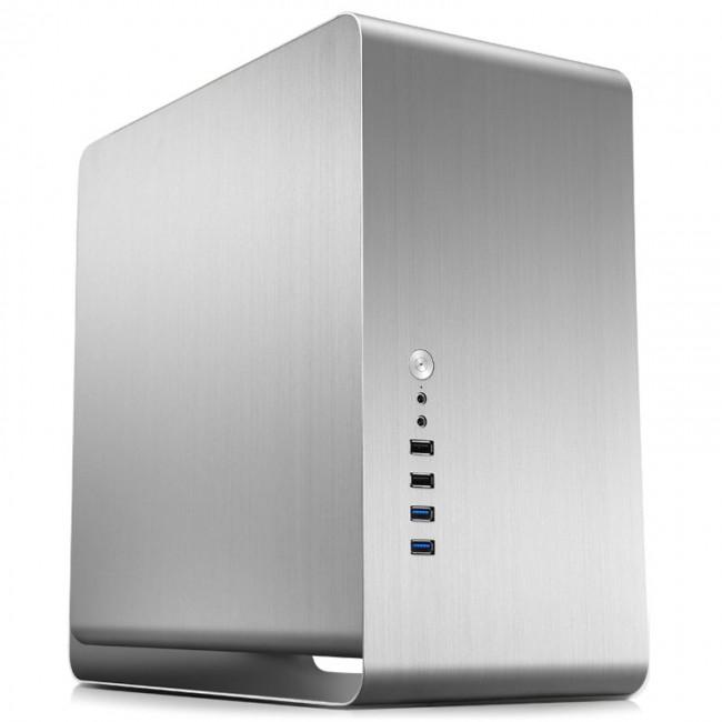 Jonsbo UMX3 Micro-ATX - srebrna - zdjęcie główne
