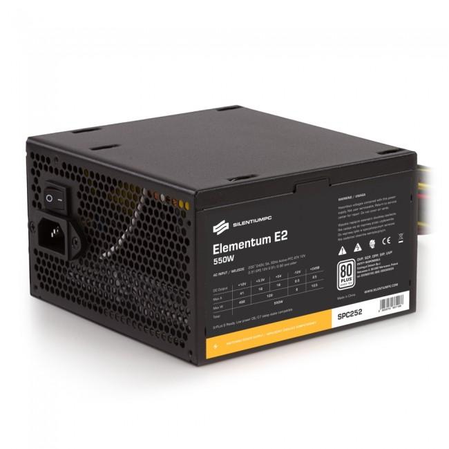 SilentiumPC Elementum E2 550W 80Plus EU - zdjęcie główne