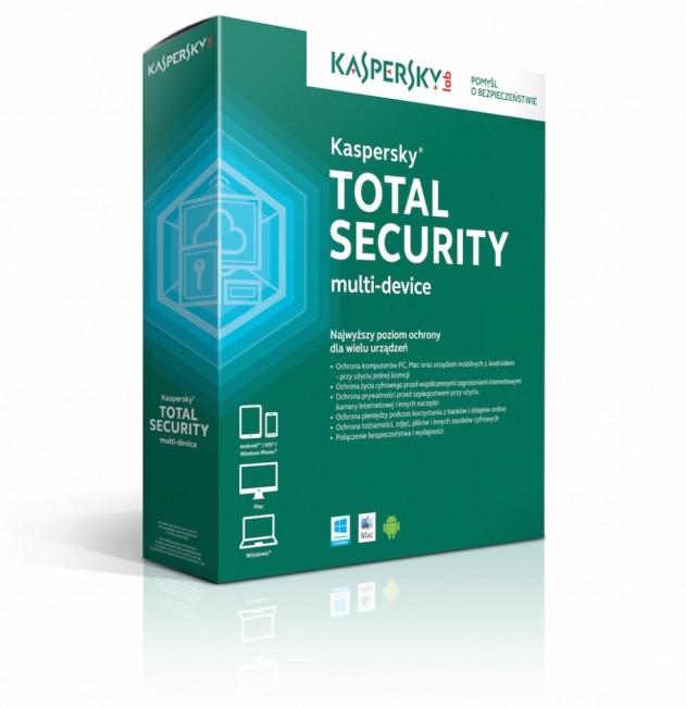Kaspersky Total Security multi-device 2 - Desktop - licencja na rok - zdjęcie główne