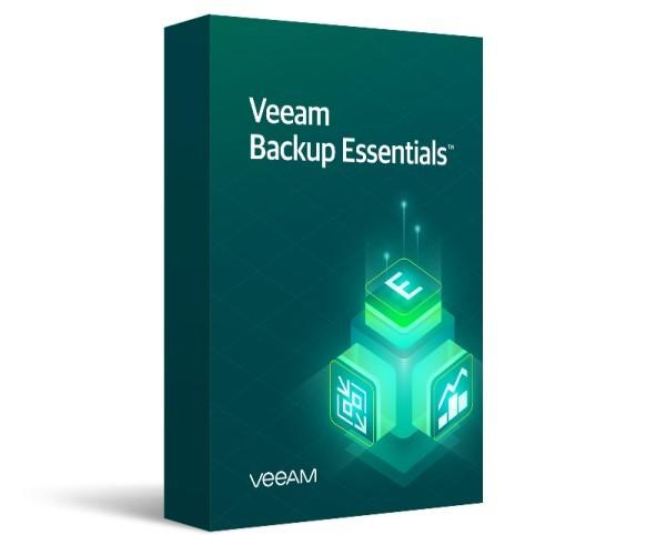 Veeam Backup Essentials Enterprise Plus 2 socket bundle .Includes 1st year of Basic Support. - zdjęcie główne