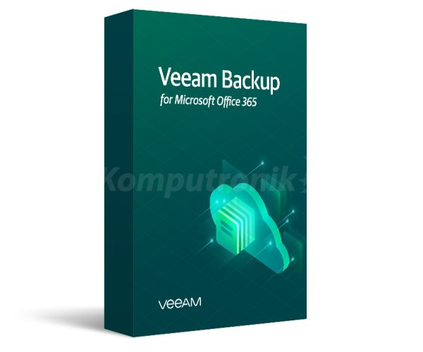 Veeam Backup for Microsoft Office 365 - 1 Year Subscription Upfront Billing License & Production (24/7) Support - zdjęcie główne
