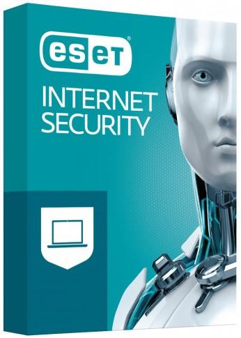 ESET Internet Security BOX 3 - desktop - odnowienie na rok - zdjęcie główne
