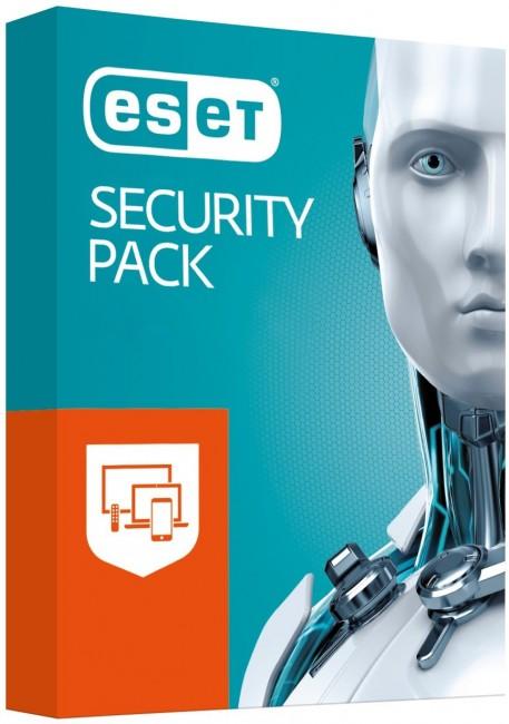 ESET Security Pack BOX 3 - desktop + 3 - smartfon - licencja na rok - zdjęcie główne