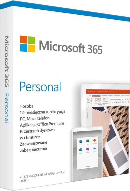 Microsoft 365 Personal PL - licencja na rok - zdjęcie główne