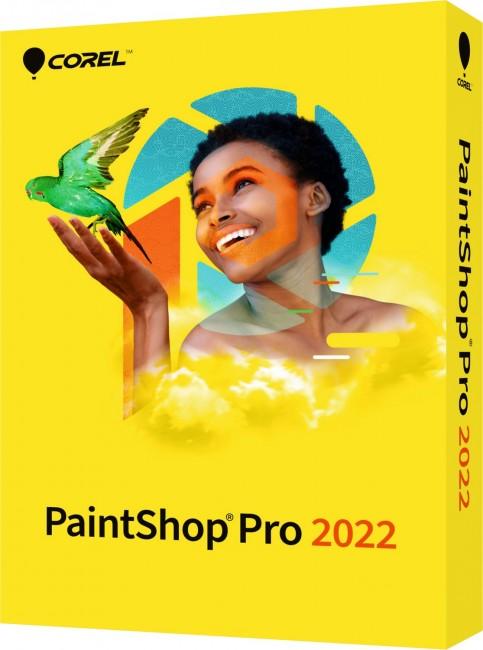 Corel PaintShop Pro 2022 WIN ENG BOX - zdjęcie główne