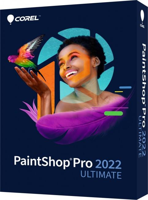 Corel PaintShop Pro 2022 Ultimate WIN ENG BOX - zdjęcie główne