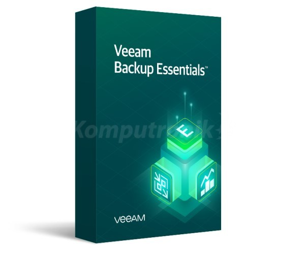 Veeam Backup Essentials Universal License. Includes Enterprise Plus Edition features. - 1 Year Subscription Upfront Billing & Production (24/7) Support - zdjęcie główne