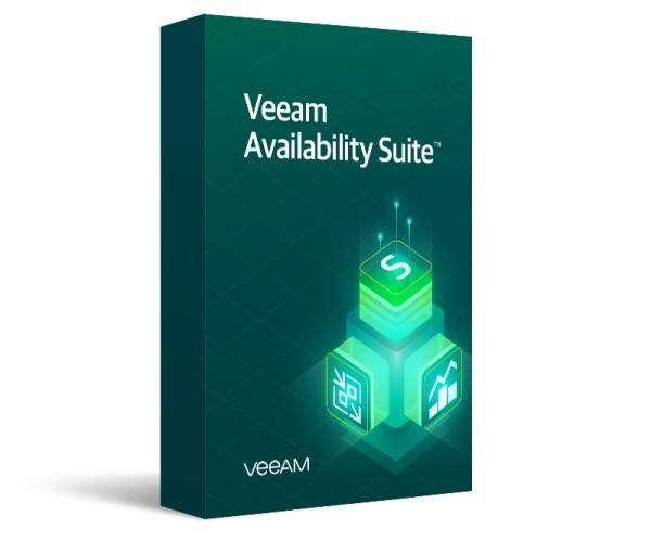 Veeam Availability Suite Universal License. Includes Enterprise Plus Edition features - 1 Year Subscription Upfront Billing & Production (24/7) Support - zdjęcie główne