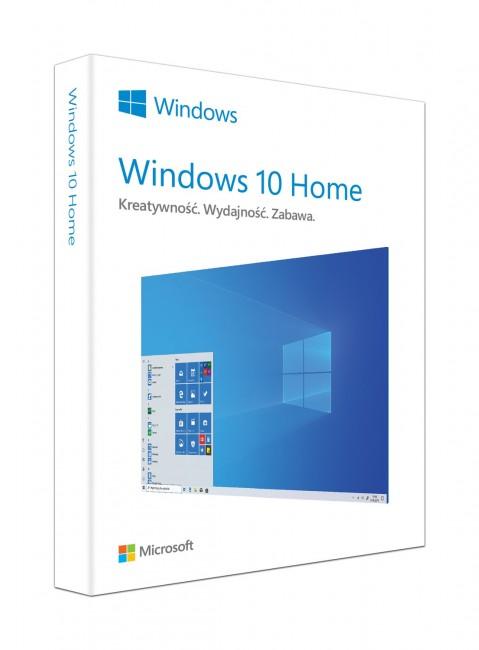 Microsoft Windows Home 10 64 bit OEM DVD PL - zdjęcie główne