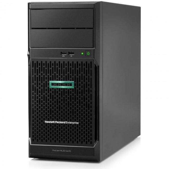 HPE Serwer dla małej firmy ML30 Tower 4-core/16GB/2x4TB HDD/Windows Server 2019 Essentials - zdjęcie główne